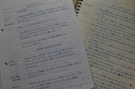 写経ノートのコメント