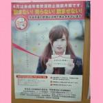 河村有歌 奈良県酒販ポスター