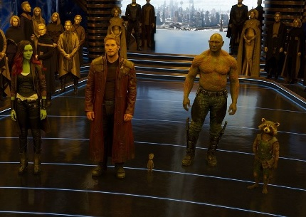 Fxxkin' The Guardians of the galaxy × 5