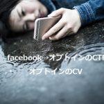 Facebook広告からオプトインへのCTRについて